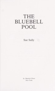 Cover of: The bluebell pool