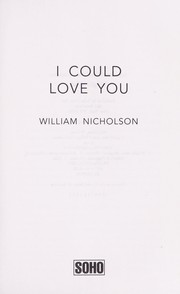 Cover of: I could love you