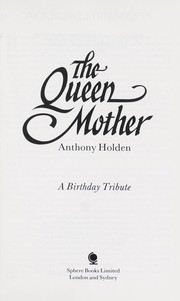 Cover of: The Queen Mother