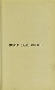Cover of: Muscle, brain, and diet