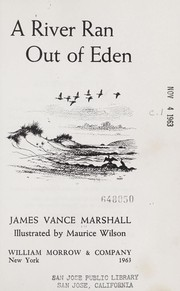 Cover of: A river ran out of Eden
