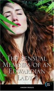 Cover of: The Sensual Memoirs Of An Edwardian Lady (Sensual Memoirs of an Edwardian Lady)