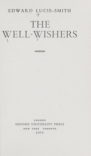 Cover of: The well-wishers | Edward Lucie-Smith