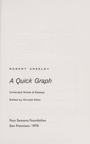 robert creeley collected essays Creeley, robert 1926-2005   was that a real poem & other essays by robert creeley ( book ) career moves : olson, creeley, zukofsky, berrigan, and the american avant-garde by libbie rifkin  the collected poems of robert creeley, 1945-1975 by robert creeley.