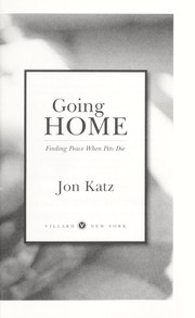 Cover of: Going home