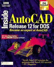 Cover of: Inside AutoCAD (Inside)