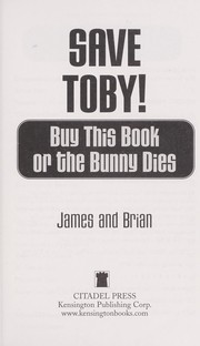 Cover of: Save Toby! | James