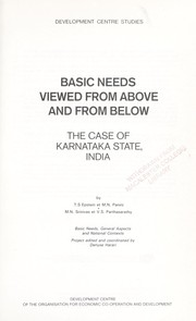 Cover of: Basic needs viewed from above and from below | by T.S. Epstein ... [et al.].