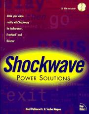 Cover of: Shockwave power solutions