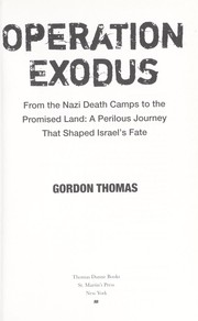 Cover of: Operation Exodus
