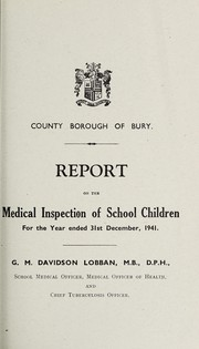 Cover of: [Report 1941]