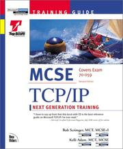 Cover of: Training guide MCSE. | Rob Scrimger