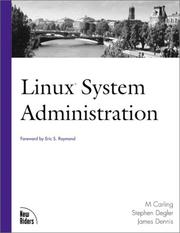Cover of: Linux system administration