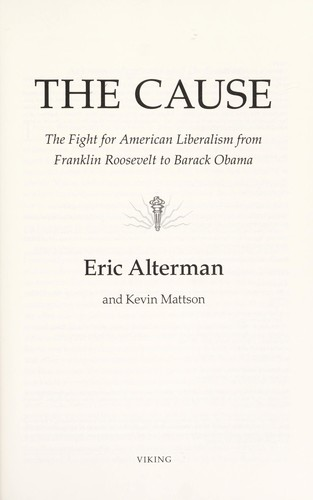 The cause by Eric Alterman