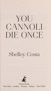 Cover of: You cannoli die once