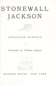 Cover of: Stonewall Jackson