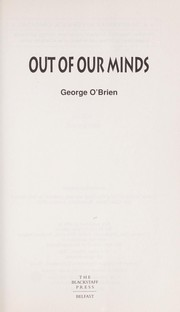 Cover of: Out of our minds