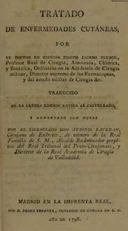Cover of: Tratado de enfermedades cut©Łneas