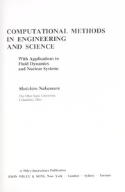 Cover of: Computational methods in engineering and science