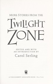 Cover of: More stories from the Twilight zone