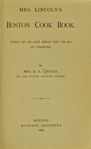 Cover of: Mrs. Lincoln