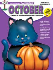 Cover of: October Monthly Idea Book