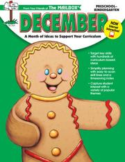 Cover of: December Monthly Idea Book