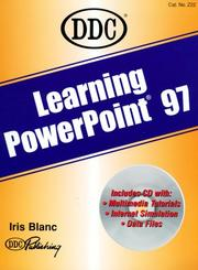 Cover of: Learning Microsoft PowerPoint 97 (Learning Series)