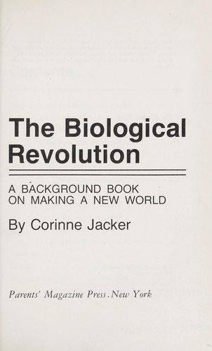 the biological revolution and dna First biological computers already in  dna's role in computer evolution  the revolution someday might be traced to the night a decade ago when university of.