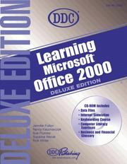 Cover of: Learning Office 2000