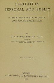 Cover of: Sanitation personal and public