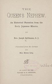 Cover of: The queen's nephew