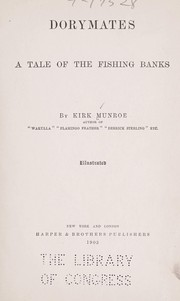 Cover of: Dorymates: a tale of the fishing banks