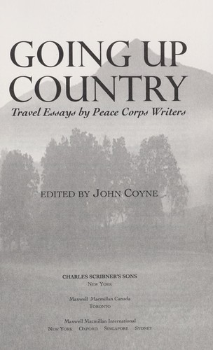 Going up country by edited by John Coyne.