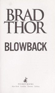 Cover of: Blowback | Brad Thor