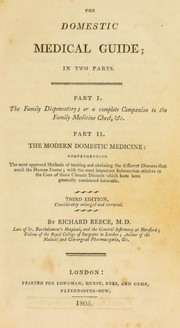 Cover of: The domestic medical guide | Richard Reece