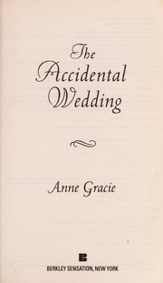 Cover of: The accidental wedding