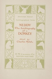 Cover of: Neddy | Charles Welsh