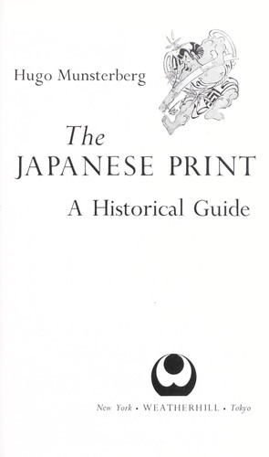 Japanese Print: A Historical Guide