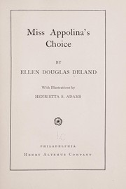 Cover of: Miss Appolina's choice