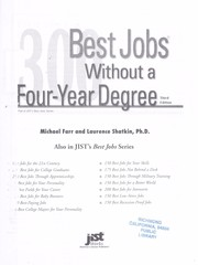 Cover of: 300 best jobs without a four-year degree | Michael Farr