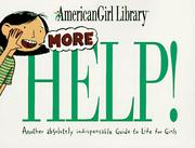 Cover of: More Help!