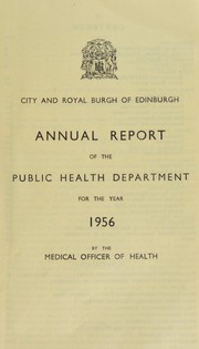 Cover of: [Report 1956]