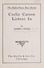 Cover of: Curlie Carson listens in