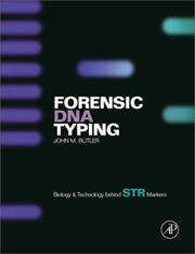 Cover of: Forensic DNA Typing | John M. Butler
