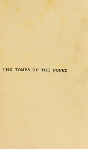 Cover of: The tombs of the popes