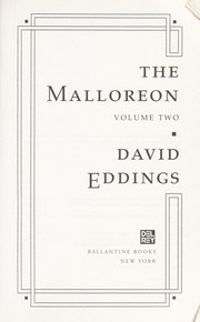 Cover of: The Malloreon