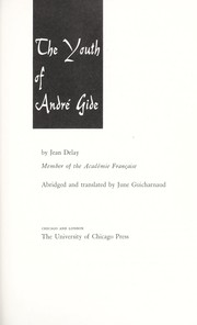 Cover of: The youth of André Gide