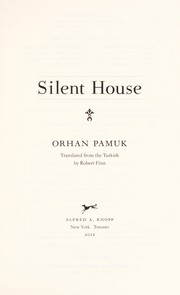 Cover of: Silent house