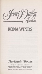 Cover of: Kona Winds (Janet Dailey Americana Hawaii #11) | Janet Dailey